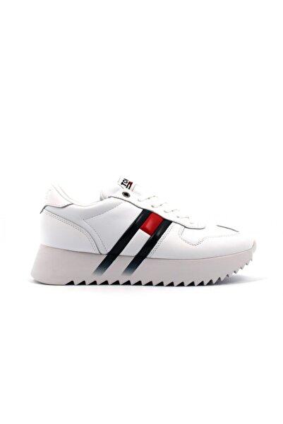 Tommy Hilfiger Tommy Hifiger Sneakers Beyaz Kadın