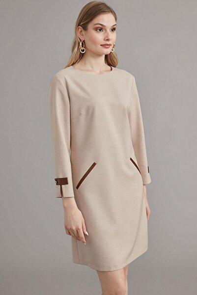 Journey Kadın Bej Elbise