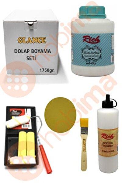 Glance Dolap Boyama Seti Multi Surface 1750 gr Beyaz