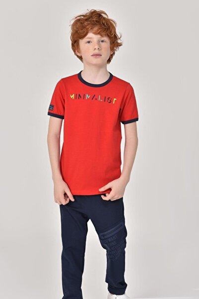 bilcee Kırmızı Unisex Çocuk T-Shirt GS-8192