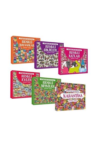 Dokuz Yayınları Mandala Yetişkin Boyama 6 Kitap Set