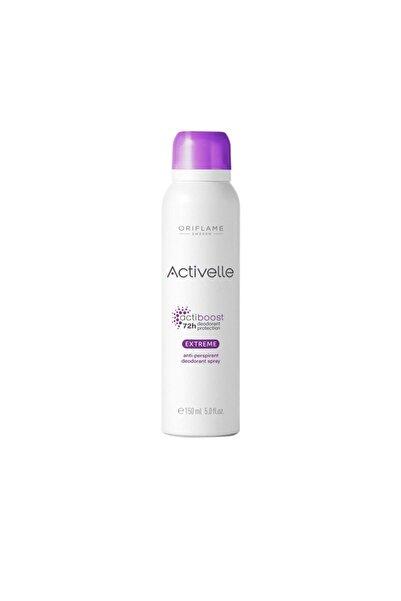 Oriflame Activelle Extreme Anti Perspirant Deodorant Sprey 150 Ml