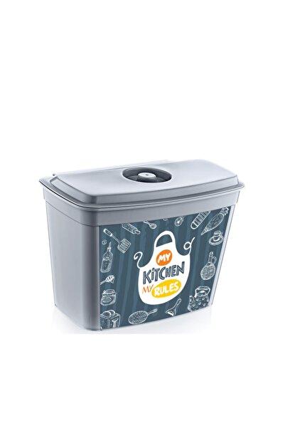 HOBBY LİFE Quick Askılı Ve Kapaklı Çöp Kutusu Desenli 4 L