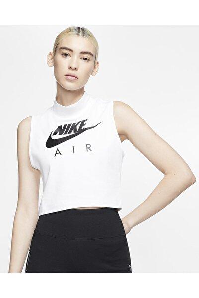 Nike Kadın Beyaz Air Mock Tank Atlet Cj3782-100
