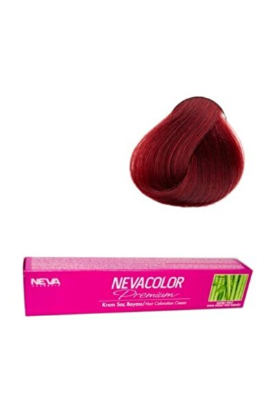 Neva Color 6.66 Koyu Kızıl Kumral Saç Boyası Ve Oksidan