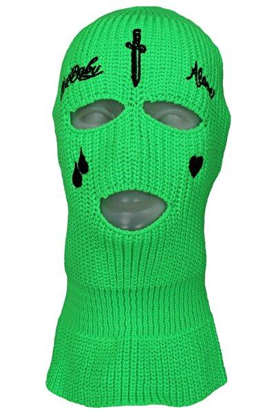 zirve şapka Kışlık Ünisex 3 Gözlü Kar Maskesi