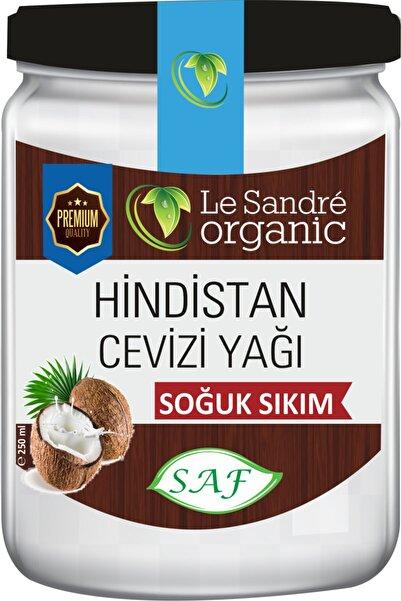 Le'Sandre Organics Soğuk Sıkım Hindistan Cevizi Yağı 250 Ml