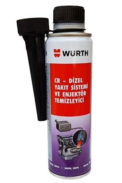 Würth Otomustafa Dizel Enjektör Temizleyici 300 Ml