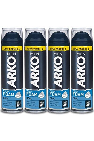 Arko Men Men Tıraş Köpüğü Cool 4x200ml