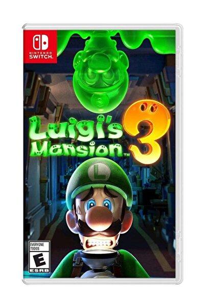 Nintendo Luigi's Mansion 3 Switch Oyun