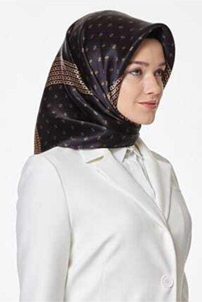 Armine Kadın Siyah Polyester Tivil 8113p