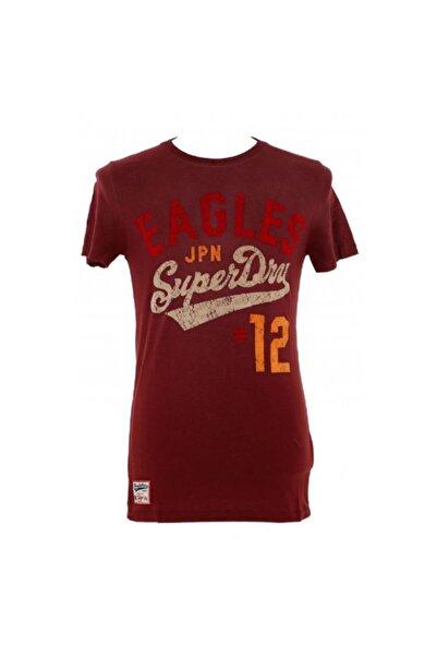 SUPERDRY Erkek Kırmızı Spor Tişört