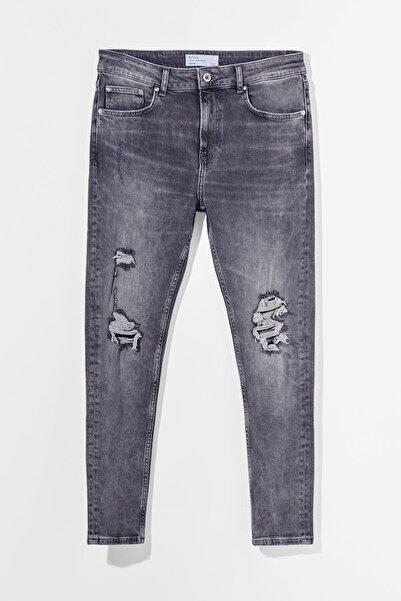 Bershka Distressed Skinny Fit Jean