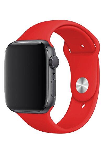 Fibaks Apple Watch 42mm A+ Yüksek Kalite Spor Klasik Silikon Kordon