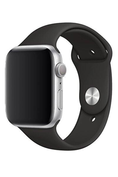 Fibaks Apple Watch 40mm A+ Yüksek Kalite Spor Klasik Silikon Kordon