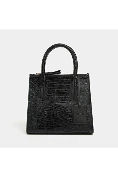 Hotiç Siyah Kadın Mini (çapraz) Çanta