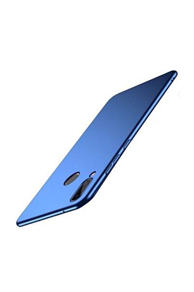 Huawei Teleplus P20 Lite Sert Kapak Kılıf Mavi