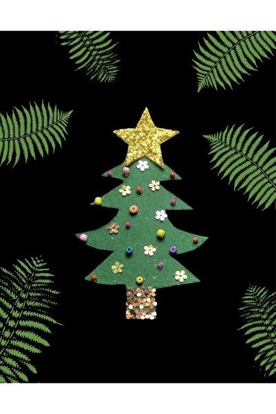 Lotus Yılbaşı Ağacı Magnet