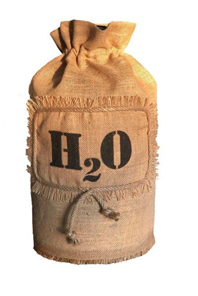 Halat Dekor Jüt Damacana Kılıfı H2o Baskılı Damacana Örtüsü