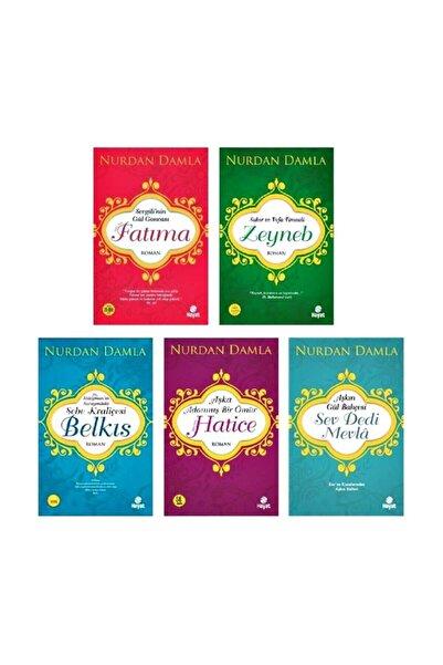 Hayat Nurdan Damla - Adanmış Ömürler Seti 5 Kitap Set
