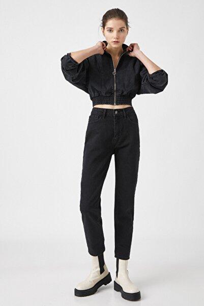 Koton Kadın Siyah Jeans 1KAK47665MD