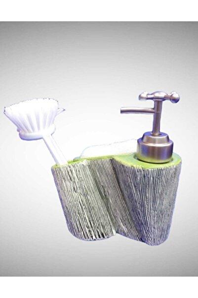 çerçi Porselen Sıvı Sabunluk Yeşil