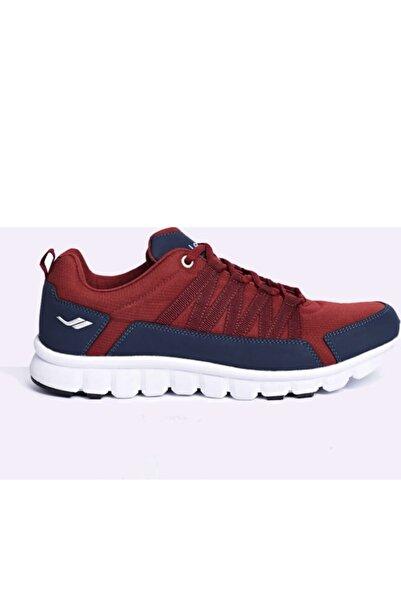 Lescon Erkek Bordo Sneaker I-Smart Özellikli Helium Ayakkabı