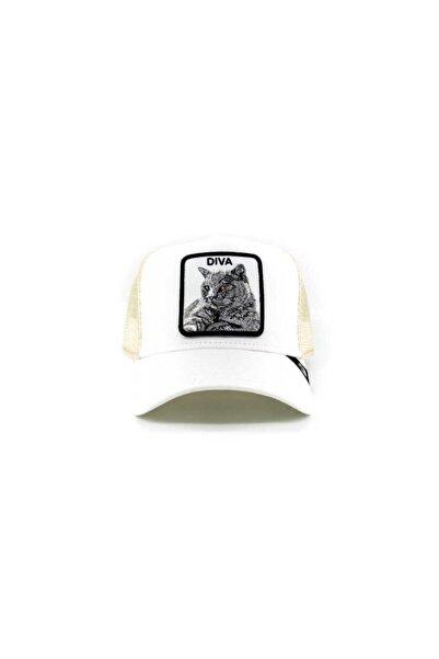 Goorin Bros Unisex Diva Stance Beyaz Standart Şapka 101-0727
