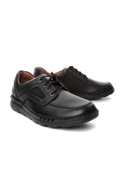 CLARKS Erkek Siyah Time Ayakkabı