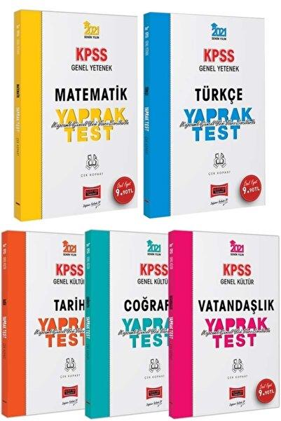 Yargı Yayınevi Yargı Yayınları 2021 Kpss Genel Yetenek Genel Kültür Çek Kopart Yaprak Test Seti