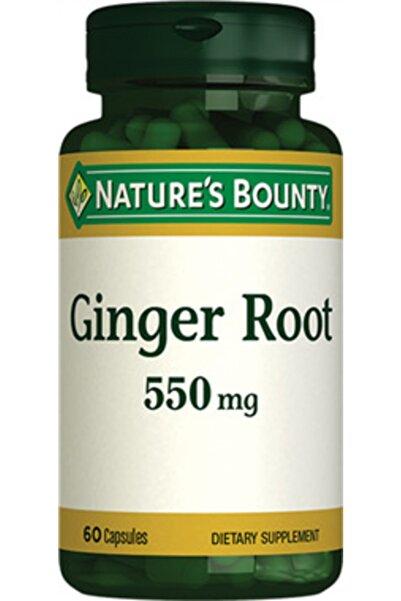 Nature's Bounty Nb Ginger Root (zencefil) 550 Mg 60 Kapsül
