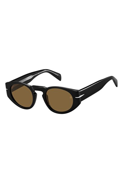 David Beckham Unisex Siyah Güneş Gözlüğü 7033s 80770 48-23-145