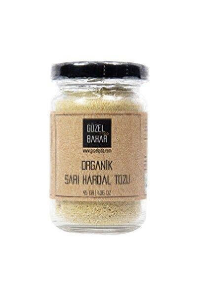 Güzel Gıda Organik Sarı Hardal Tozu 45 Gr