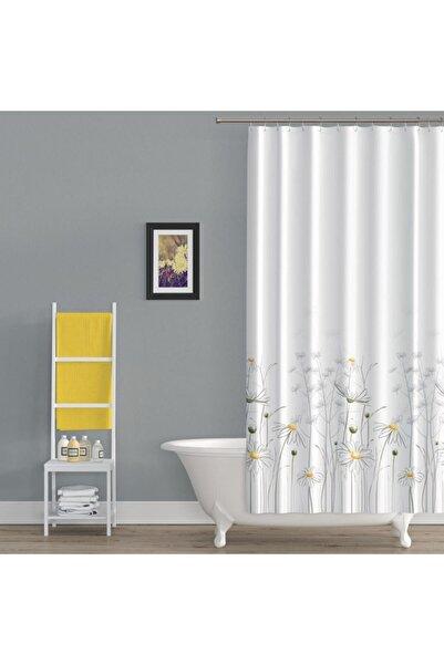 Tropik Duş Perdesi 8441 Model Çift Kanat 2x 110x200cm