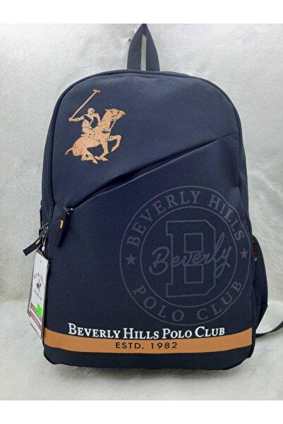 Beverly Hills Polo Club Unisex Siyah Sırt Çantası