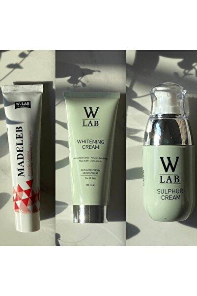 W-Lab Kozmetik 3 lü Süper Set (Nemlendirici+Beyazlatıcı+Kükürt)