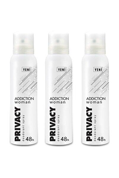 Privacy Woman Addiction Kadın Deodorant 150 ml X 3