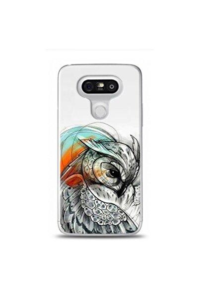ELFİMO Lg G5 Uyumlu  Baykus Cizimi Desenli Telefon Kılıfı