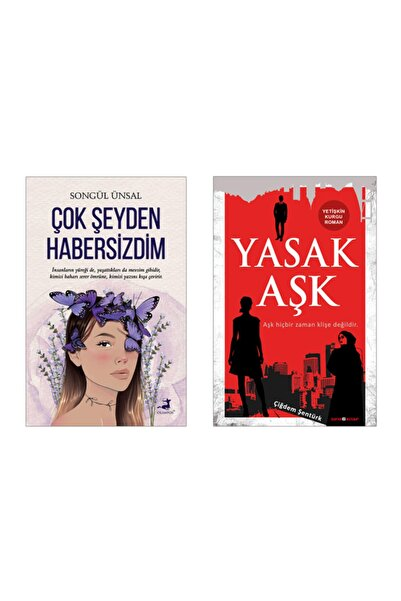 Olimpos Yayınları Çok Şeyden Habersizdim - Songül Ünsal / Yasak Aşk - Çiğdem Şentürk (Ikili Set)