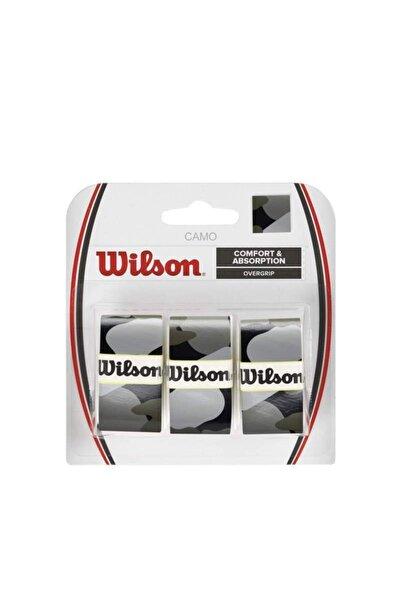 Wilson Pro Comfort Camo Siyah 3'lü Tenis Gribi Wrz470830