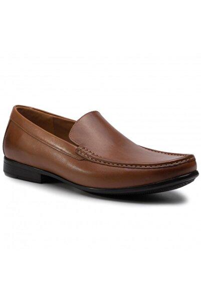 CLARKS Erkek Kahverengi  Claude Plain Ayakkabı