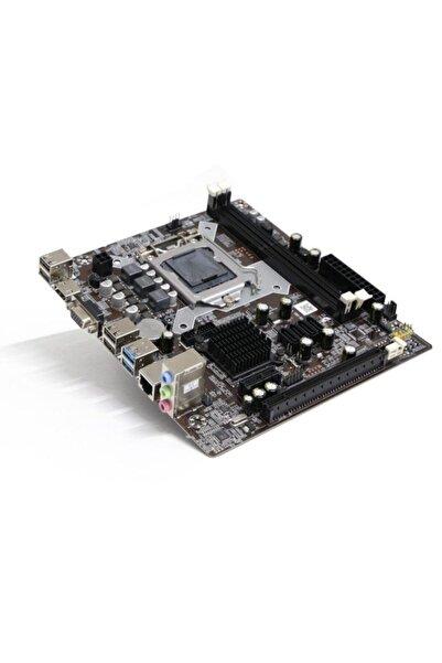 TURBOX Oem H81 Lga1150 Ddr3 Vga Hdmı Microatx Anakart (Kutusuz)
