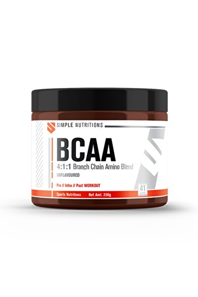 Simple Nutritions Bcaa 4:1:1 Unflavoured - 250 Gr