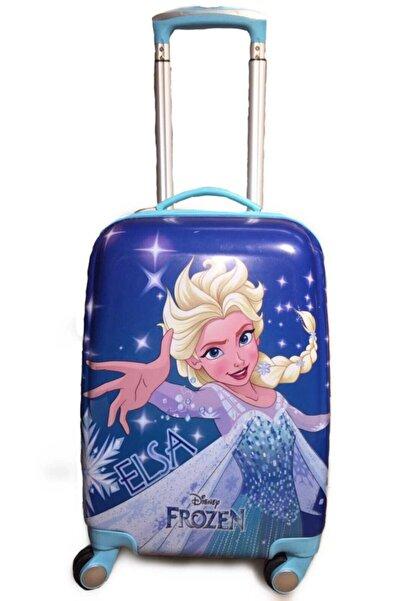 Hakan Çanta Elsa Frozen Lisanslı Abs Seyahat Çocuk Valiz