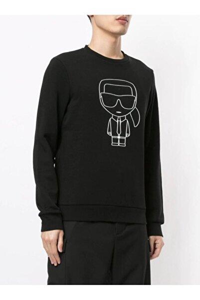 Karl Lagerfeld Kadın Siyah Sweatshirt