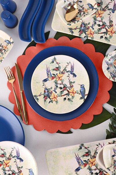 Keramika Fairy Bird Kahvaltı Takımı 37 Parça 6 Kişilik - 19071