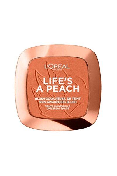 L'Oreal Paris Skin Awakening Blush 01 Life's A Peach 3600523560813