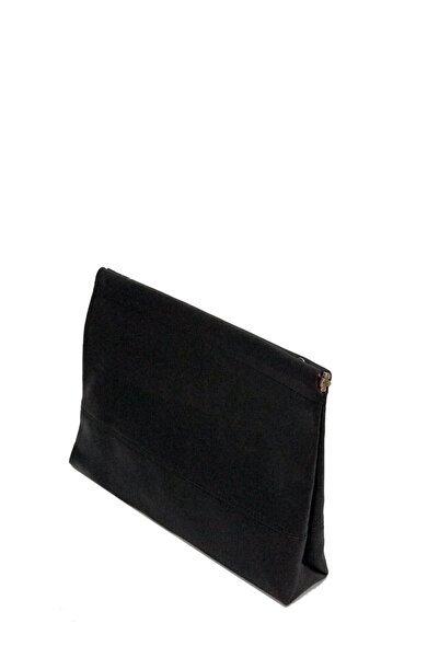 Casa Bag Kadın Siyah Cluch Çanta