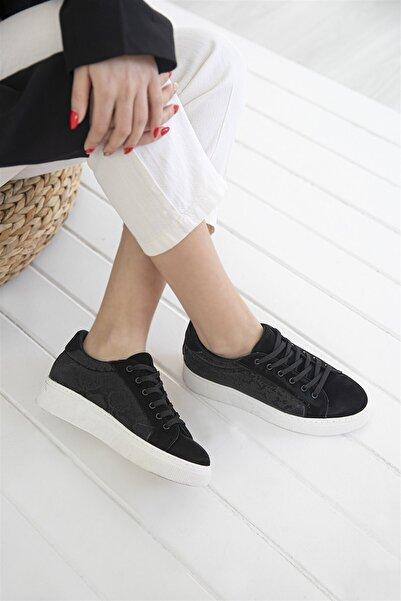 STRASWANS Kadın Siyah Sweet Spor Ayakkabı