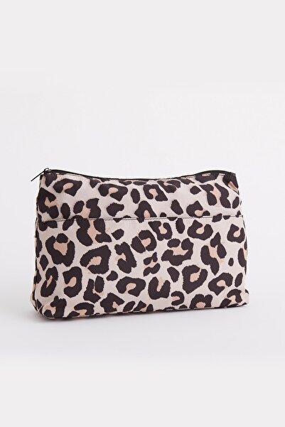 AVON Leopard Kozmetik Çantası
